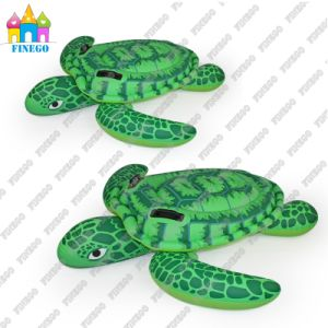 Green Inflatable PVC Air Turtle White Sawn Floating Float Mats pictures & photos