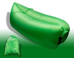 Nylon Fabric and 3 Season Type Hot Selling Lamzac Hangout/Fashion Inflatable Sleeping Bag pictures & photos