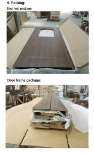 Chipboard Core MDF PVC Door China (SC-P021) pictures & photos
