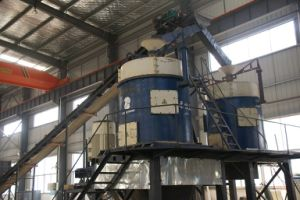 Flexible Mineral Vertical Grinding Mill, Sand Making Machine pictures & photos