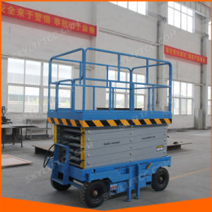12m China Movable Scissor Lift Platform for Rent with Ce Inspection pictures & photos