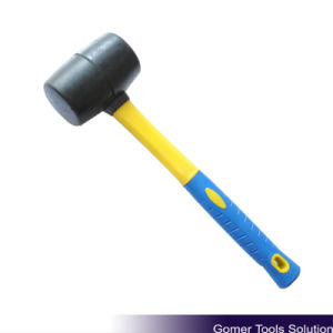 Rubber Mallet with Fibreglass Handle (T05052) pictures & photos