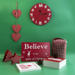 New Christmas Fabric Door Stopper with En71 Standard pictures & photos