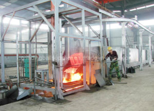 Heat Treatment Quenching Furnace by Oil