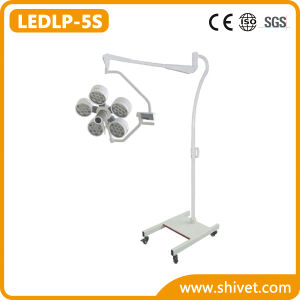 Veterinary Shadowless Operating Lamp (Mobile) (LEDLP-5S) pictures & photos