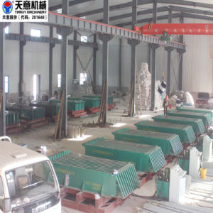EPS Cement Fireproof Sandwich Wall Board Making Machine pictures & photos