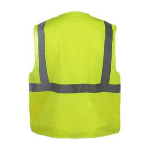 High Visibility Work Wear Reflective Safety Vest with Pockets pictures & photos