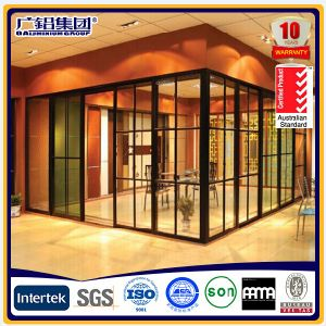 Aluminium Office Sliding Door Office Partition Door pictures & photos