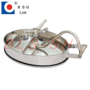 Stainless Steel Pressure Vessel Tank Manhole Cover pictures & photos