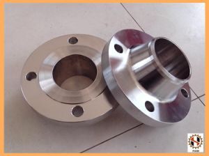 High Precision CNC Machining 20CrNiMo Forged Flange pictures & photos