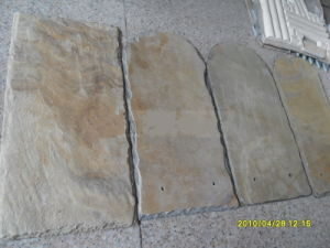 Cheap Natural Rusty Slate Roofing Slate for Roofing pictures & photos
