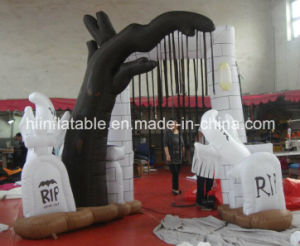 2015 New Design Inflatable Halloween Tomb Product pictures & photos