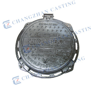 En124 C250 Medium Duty Manhole Cover for Kerbside Channels of Roads pictures & photos