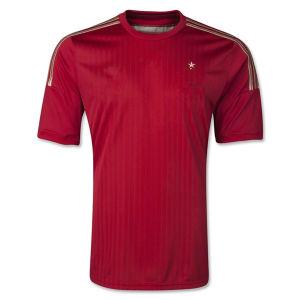 Baratas Camisetas De Futbol Espana New 2014 World Cup Spain Home Red Maillot De Foot Football T Shirts and Spainish National Team Soccer Jerseys Uniforms Kits