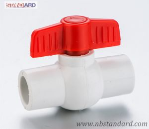 Plastic Ball Valve/PPR Ball Valve/Handle Valve pictures & photos