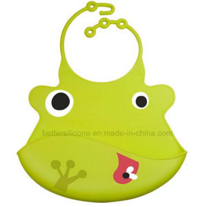 Non-Disposable Silicone Rubber Baby Bibs pictures & photos