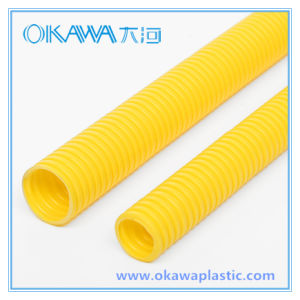 PVC Conduit Corrugated Hose for Protection Wire Cable pictures & photos
