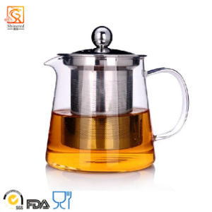 Heat Resistant Glass Tea Pot pictures & photos