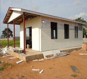 Structural Steel Modular House for Construction Site pictures & photos