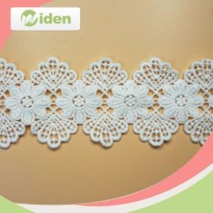 Most Popular Embroidery Cotton Chemical Lace pictures & photos