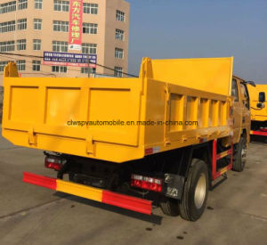 Small Dongfeng 4X4 Hotsale 5 T LHD & Rhd Dump Truck Price pictures & photos