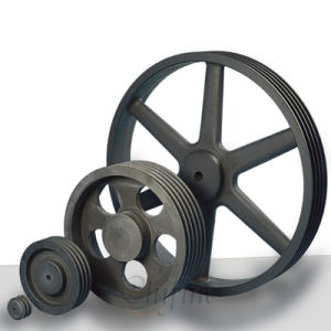 Custom Casting Belt Pulley with Ductile Iron pictures & photos