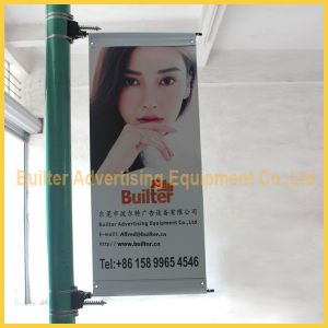 Metal Street Pole Advertising Sign Device (BT-BS-050) pictures & photos