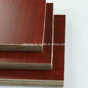 Walnut Color Melamine Plywood, Furniture Plywood pictures & photos