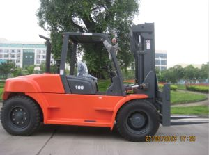10ton New Type Diesel Forklift Truck pictures & photos
