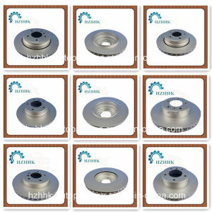 Auto Parts Rotors Brake Disc for BMW Car Hub