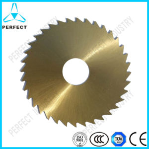 Tin Coated HSS Dm05 Circular Saw Blade for Cutting Wood pictures & photos
