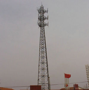 Professional Fabricated Communication Steel Tower for Telecom Use pictures & photos