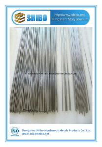 Factory Direct Sale Polished Molybdenum Rod Dia3X500mm with Outstanding Quality pictures & photos
