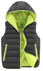Green Black Wholesale Fashion Sleeveless High Quality Vest pictures & photos