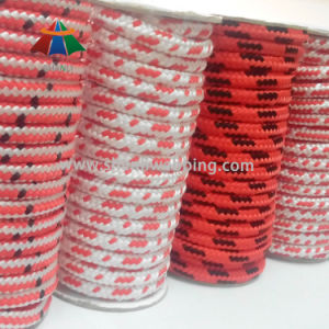 Double Braided Striped PP/Polypropylene Round Cord Rope pictures & photos