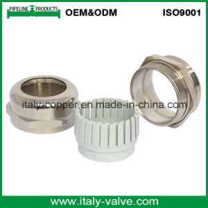 Customized Quality Polishing Nickel Brass Cable Gland Coupling (ZIC-70011) pictures & photos