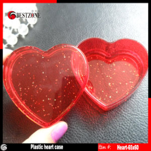 Plastic Capsules Case Heart Shape pictures & photos