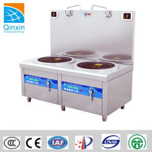 CE Certificated Safety Induction Soup Cooker with Two Burners pictures & photos