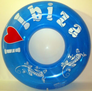 PVC Inflatable Funny Cartoon Swimming Ring