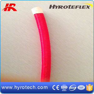 Red PTFE Braided Hose/High Pressure Hydraulic Hose pictures & photos