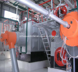 Pulverized Coal Steam and Hot Water Boiler (SZS) pictures & photos
