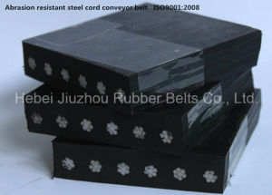 Abrasion Resistant Steel Cord Rubber Conveyor Belt pictures & photos