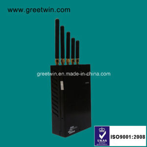 Cell Phone Jammer/Portable GPS Jammer/ WiFi Jammer (GW-JN5L) pictures & photos