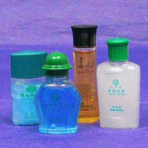 Hotel Shampoo (Shower Gel, Body lotion) Filled in Bottle pictures & photos