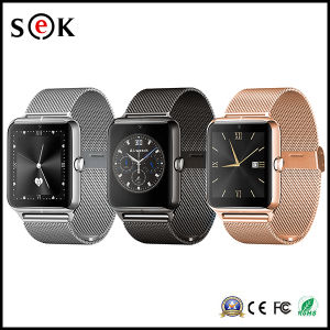 2016 Top Selling Metal Bluetooth Z50 Camera Smart Watch Mobile Phone pictures & photos