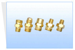 Brass Nipples / Connector for Cleaning Machine Parts pictures & photos