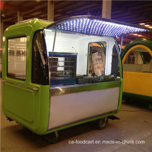 Hand Pushed Mobile Food Vending, Food Catering Cart pictures & photos