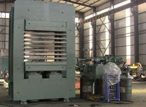 CE Rubber Mats Molding Machine/Rubber Floor Tile Vulcanzing Press pictures & photos