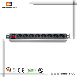 Horizontal Power Strip with Franch Sockets (WB-PDU-05) pictures & photos