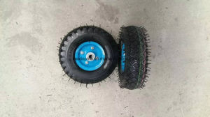 Quality pneumatic Rubber Wheel pictures & photos